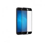 Защитное стекло для Samsung Galaxy A3 2017 5D полная проклейка черное