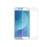 Защитное стекло для iPhone X 5D белое
