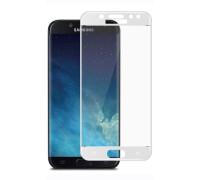 Защитное стекло для Samsung Galaxy J7 2017 5D белое