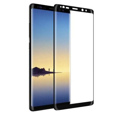 Защитное стекло для Samsung Galaxy Note 8 5D черное