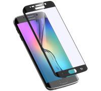 Защитное стекло для Samsung Galaxy S6 Edge 3D черное