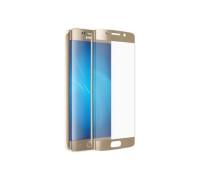 Защитное стекло для Samsung Galaxy S7 3D золотое