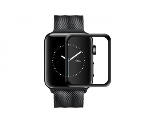 Защитное стекло apple watch 42 mm 3d