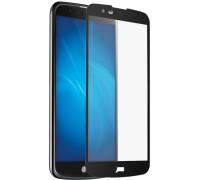 Защитное стекло для LG K10 2017 3D черное