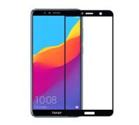 Защитное стекло для Huawei Y5 Prime 2018 3D черное