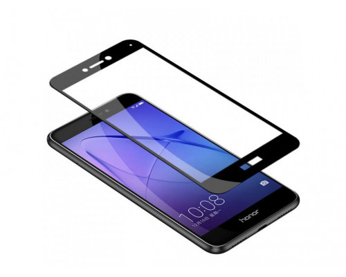 Защитное стекло для Honor 8 5D черное