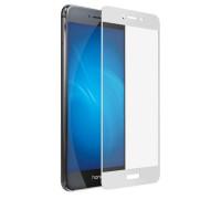 Защитное стекло для Honor 8 Lite 5D белое