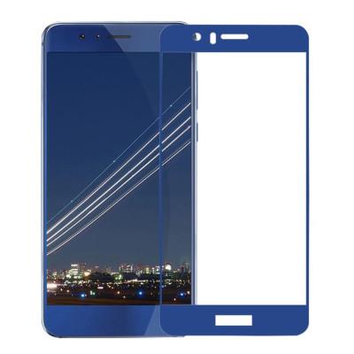 Защитное стекло для Honor 8 3D синее