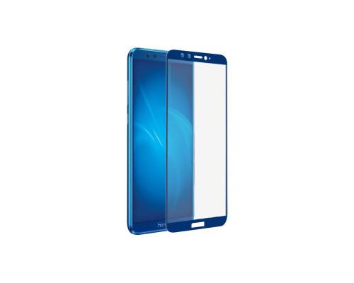 Защитное стекло для Honor 9 Lite 3D синее