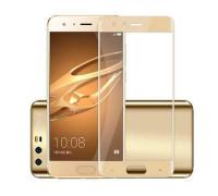 Защитное стекло для Honor 9 3D золотое