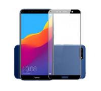 Защитное стекло для Huawei Y6 Prime 2018 3D черное