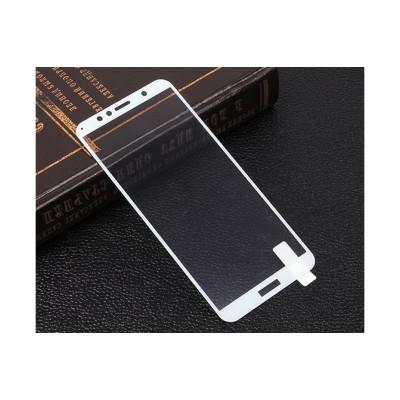 Защитное стекло для Huawei Y6 Prime 2018 3D белое