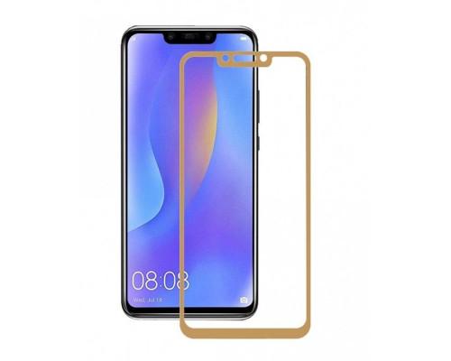 Защитное стекло для Huawei Mate 20 Pro 3D золотое