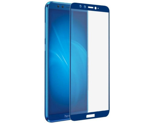 Защитное стекло для Honor 7C Pro 5D синее