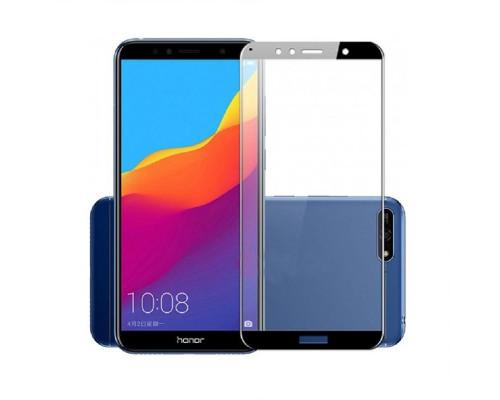 Защитное стекло для Huawei Y6 Prime 2018 5D черное