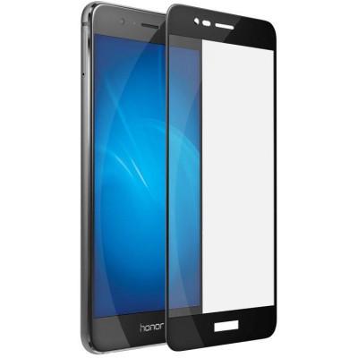 Защитное стекло для Honor 8 Lite 5D черное