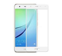 Защитное стекло для Huawei Nova 3D белое
