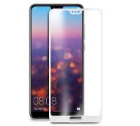 Защитное стекло для Huawei P20 Lite 5D белое