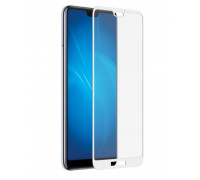 Защитное стекло для Huawei P20 5D белое