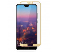 Защитное стекло для Huawei P20 Lite 3D золотое