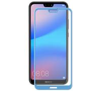 Защитное стекло для Huawei P20 Lite 3D синее