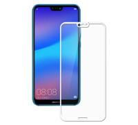 Защитное стекло для Huawei P20 Pro 5D белое