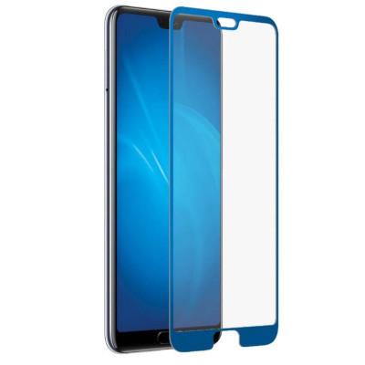 Защитное стекло для Huawei P20 3D синее