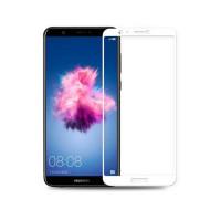 Защитное стекло для Huawei P Smart 5D белое