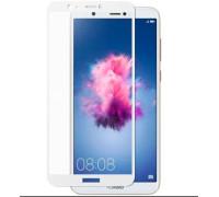Защитное стекло для Huawei P Smart 3D белое
