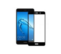 Защитное стекло для Huawei Y7 2017 3D черное