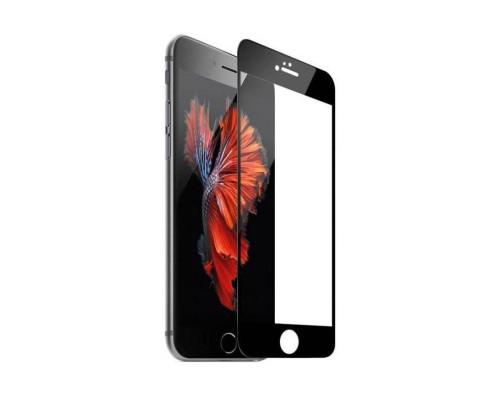 Защитное стекло для iPhone 6S 5D черное
