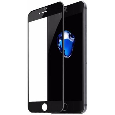 Защитное стекло для iPhone 8 Plus 6D черное