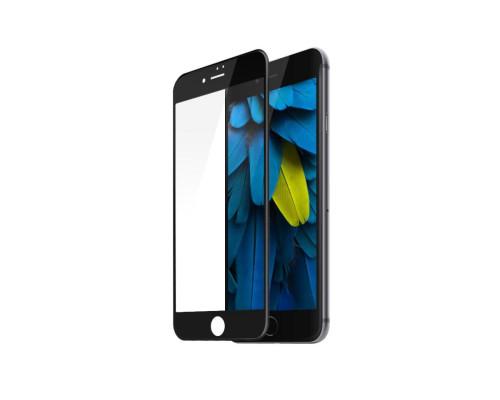 Защитное стекло для iPhone 8 6D черное