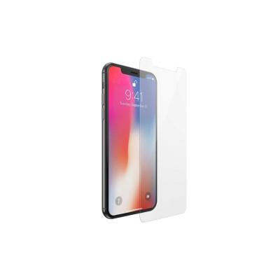 Защитное стекло для iPhone XS Max (вид - 2.5D, комплектация эконом)