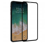 Защитное стекло для iPhone XS Max 5D черное