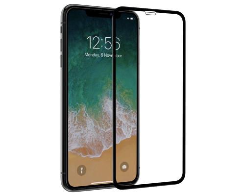 Защитное стекло для iPhone XS Max 3D черное