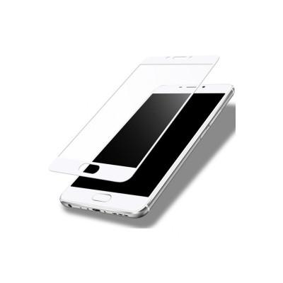 Защитное стекло для Meizu M5 Note 3D белое