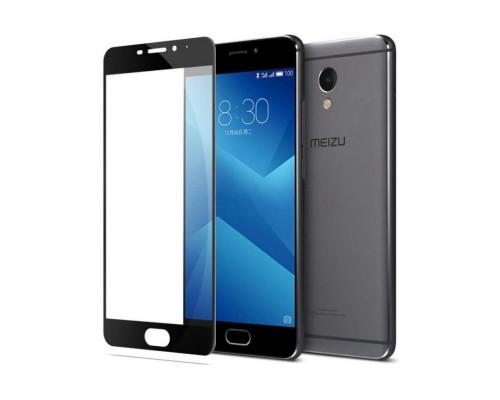 Защитное стекло для Meizu M5 Note 3D черное