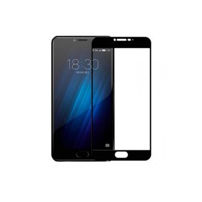 Защитное стекло для Meizu U20 3D черное
