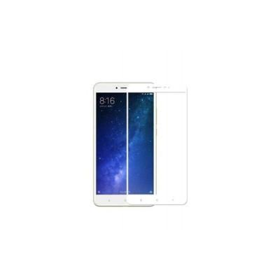 Защитное стекло для Xiaomi Mi Max 2 3D белое