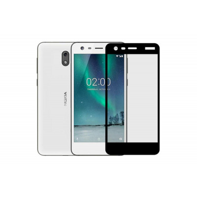 Защитное стекло для Nokia 2 3D черное