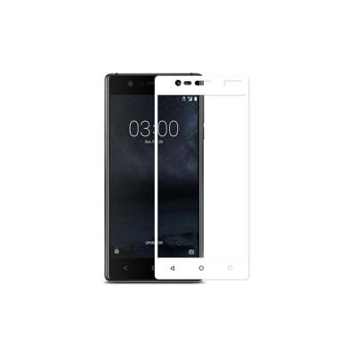 Защитное стекло для Nokia 3 3D белое