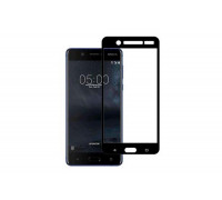 Защитное стекло для Nokia 5 3D черное