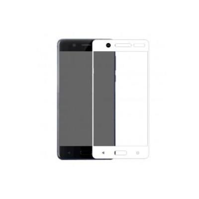 Защитное стекло для Nokia 5 3D белое
