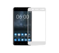 Защитное стекло для Nokia 6 3D белое