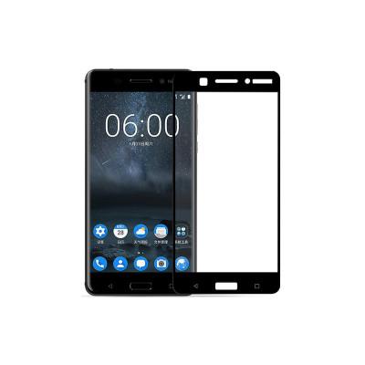 Защитное стекло для Nokia 6 3D черное