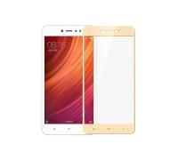 Защитное стекло для Xiaomi Redmi 5A 3D золотое