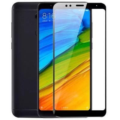 Защитное стекло для Xiaomi Redmi 5 Plus 3D черное