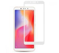 Защитное стекло для Xiaomi Redmi 6A 3D белое