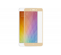 Защитное стекло для Xiaomi Redmi 6 Pro 3D золотое